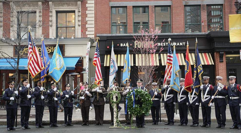 Tributes planned to mark Boston Marathon bombing _lowres