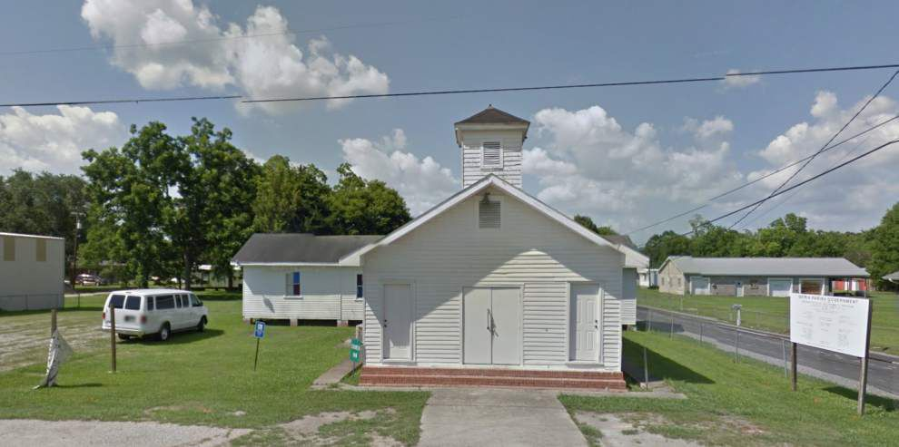 Historic black church in New Iberia destroyed by fire _lowres