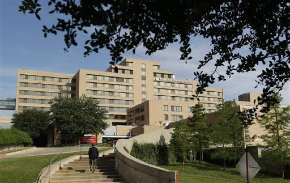 CDC: Dallas patient tests positive for Ebola _lowres