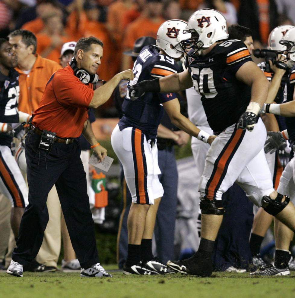 Report: Ex-Auburn center Ryan Pugh hired as LSU's new offensive graduate assistant, got rave reviews at Cincinnati _lowres