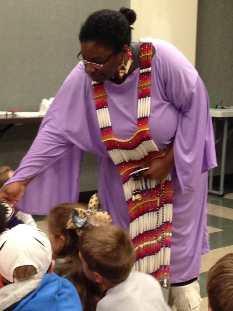 Native American history featured at Livingston Parish library _lowres