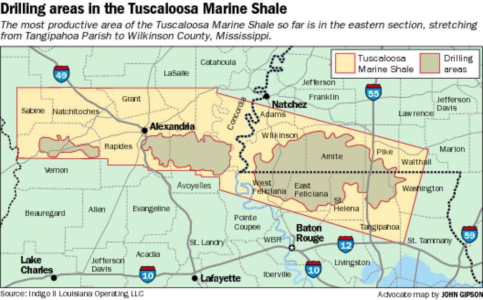 Drillers defining Tuscaloosa shale's productive areas _lowres