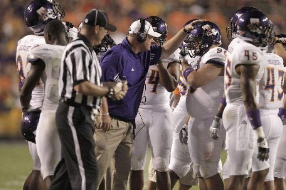 Source: Peveto hired as LSU special teams coach _lowres