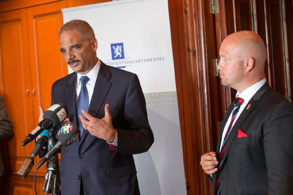 Holder: Threat from Syria endangers Europe, U.S. _lowres