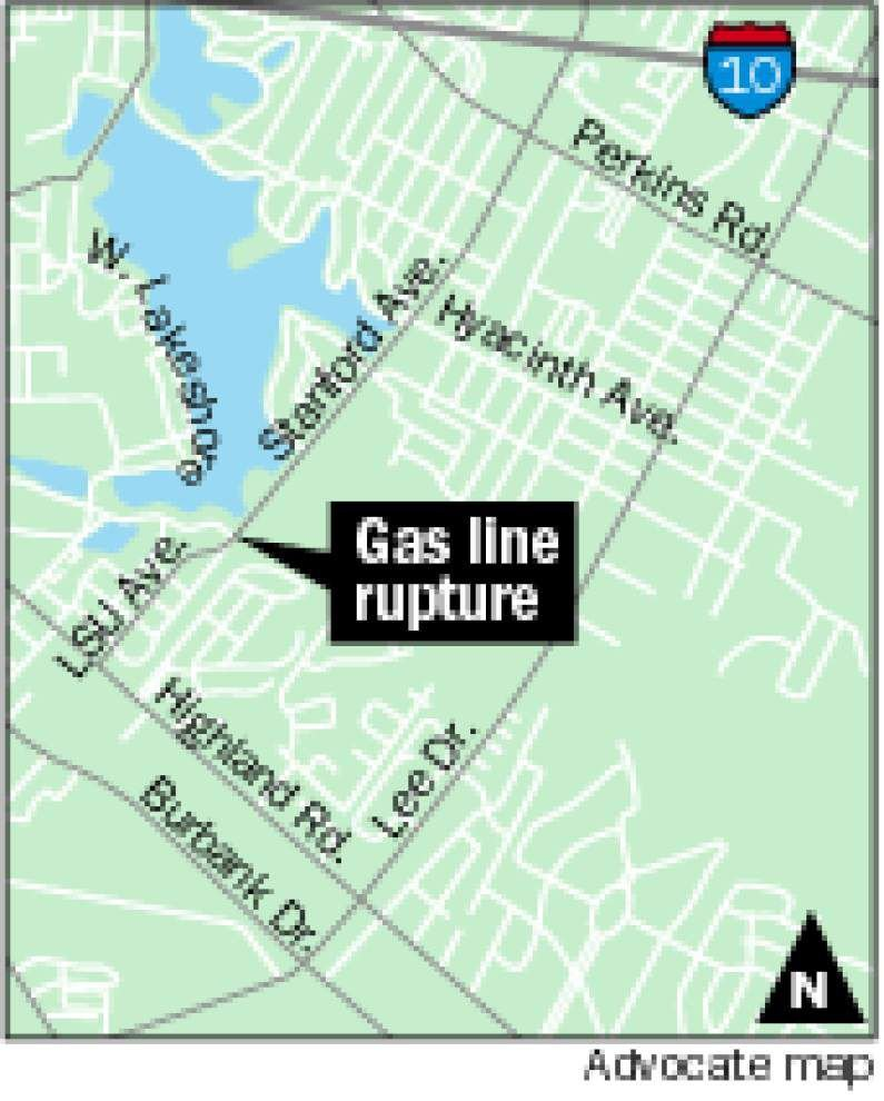 Gas leak triggers evacuations on Stanford Avenue _lowres