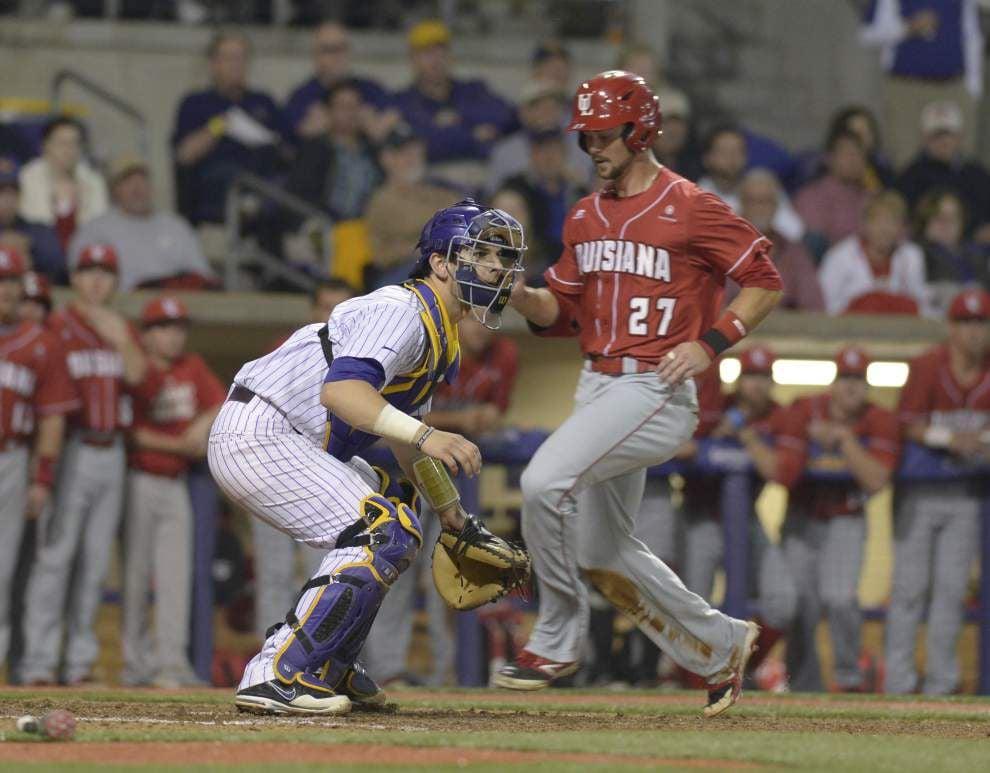LSU baseball postgame: Ragin Cajuns defeat Tigers 4-1 _lowres