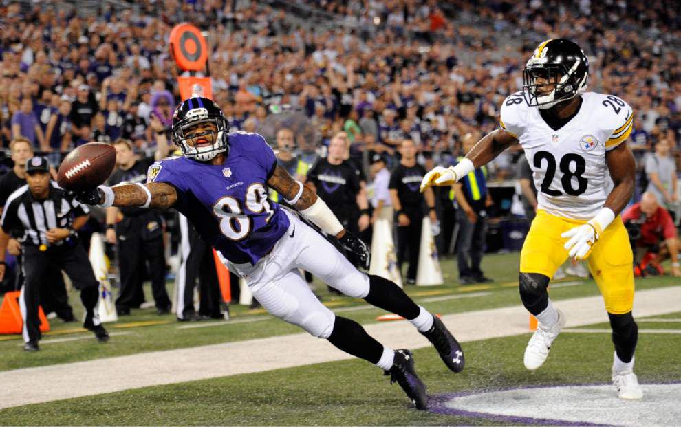 Joe Flacco leads Ravens over Steelers _lowres
