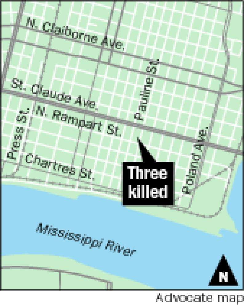 Man kills self, siblings in Bywater home, police say _lowres