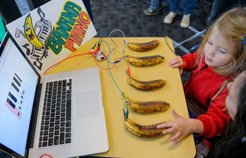 Gadgets and gizmos inspire multiple generations at local Maker Faire _lowres