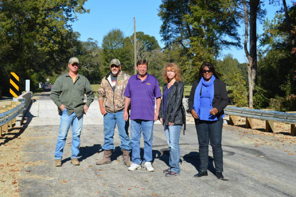 St. Helena opens four of five new bridges _lowres