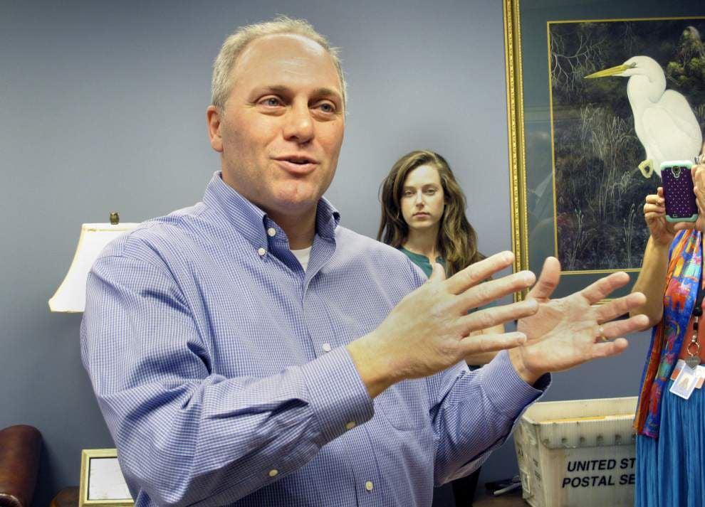 Scalise re-elected House majority whip; Landrieu votes against Reid as Senate leader _lowres