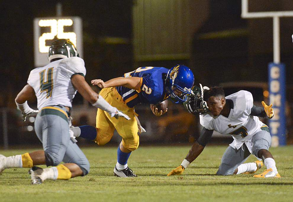St. Charles Catholic tops Southern Lab 31-12 _lowres