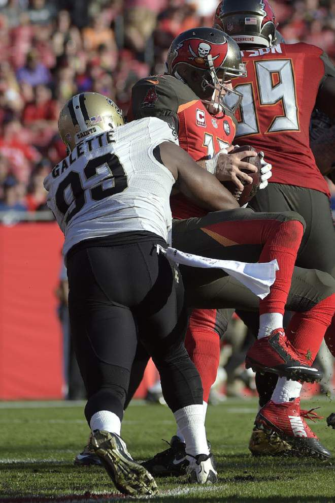 Defense rises up, sends Saints into the offseason on a winning note with a 23-20 victory at Tampa Bay _lowres