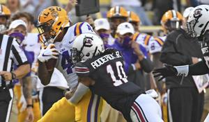 How LSU 'woke up' South Carolina defense, rolled up most rushing yards in nearly 2 years