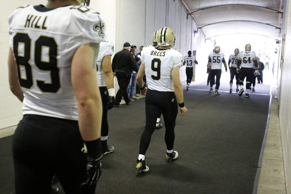 Carolina Panthers at New Orleans Saints pregame chat with Advocate sportswriter Nick Underhill, Sunday at 11 a.m. _lowres