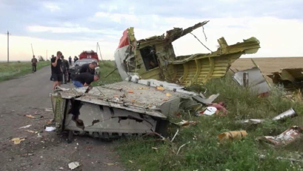 Ukraine: Pro-Russia rebels downed Malaysian plane _lowres