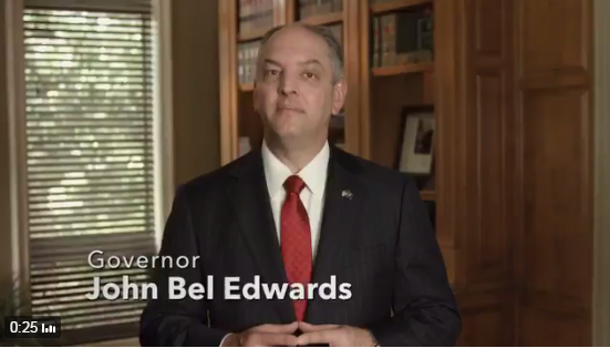 Gov. John Bel Edwards ad