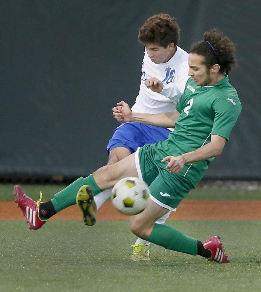 Jesuit soccer team blanks Grace King _lowres