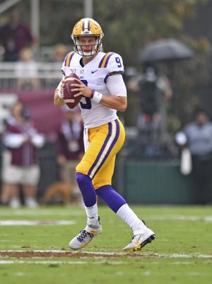 Rabalais: LSU quarterback Joe Burrow makes his mark on a record-breaking Saturday