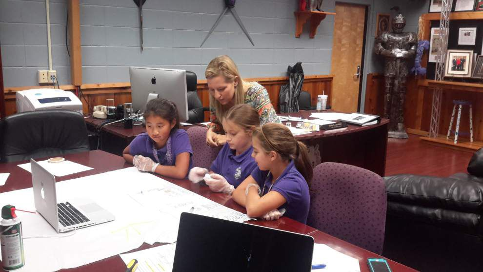 After rocket explosion, Iberville students prepare again to send experiment to Space Station _lowres