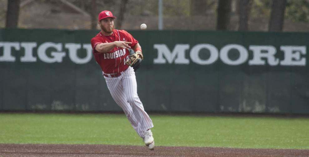 Cajuns' Greg Milhorn back from injury, set to pitch again _lowres