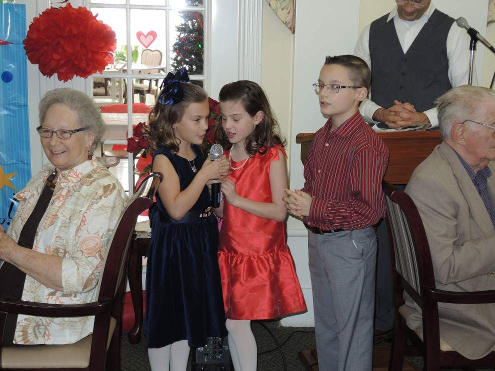 Woman surprised with 100th birthday party _lowres