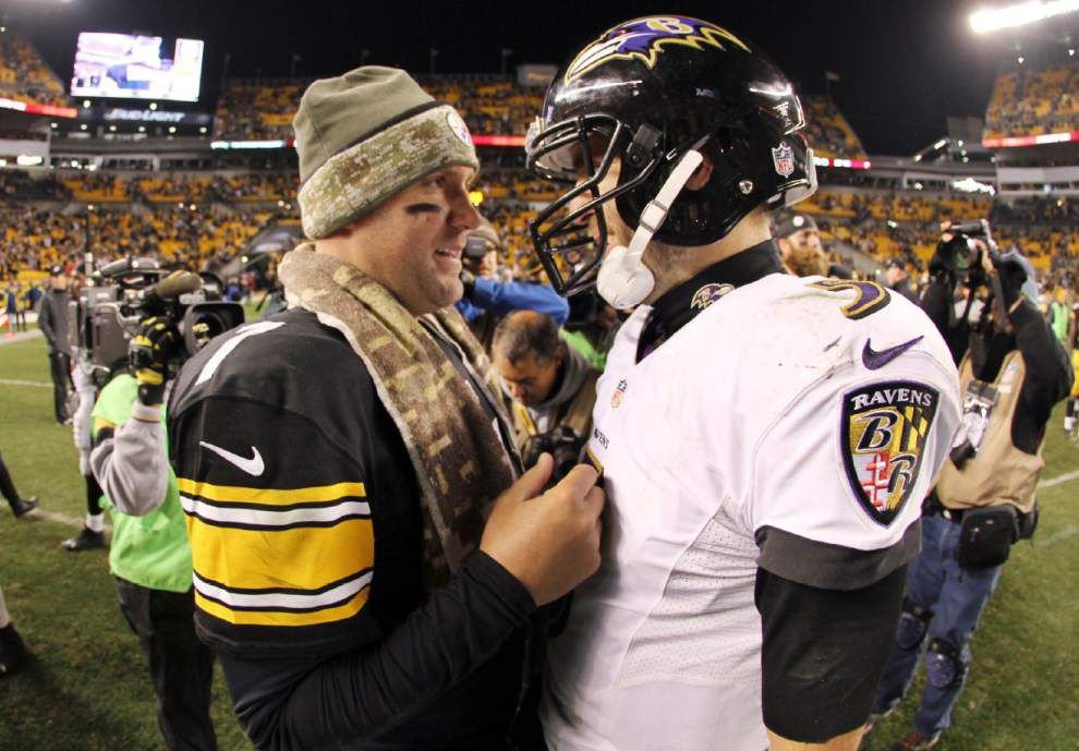 Rivalry hits playoffs for Steelers, Ravens _lowres