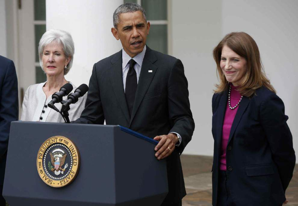 Obama announces Sebelius resignation, successor _lowres