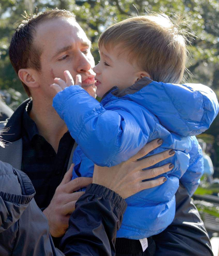 Photos: Drew Brees, his family celebrate 'Zoo Year's Eve' at Audubon Zoo in New Orleans _lowres