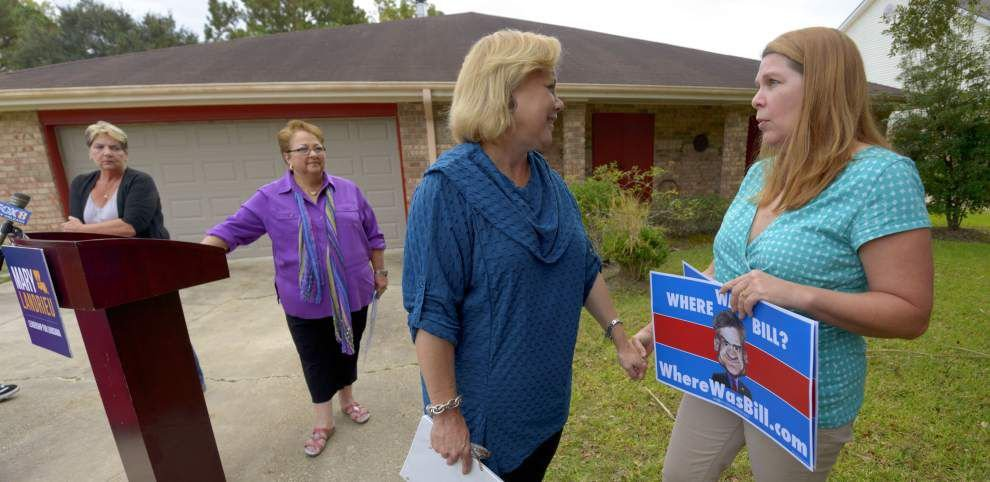 Incumbent Sen. Mary Landrieu comes out swinging but faces an uphill battle _lowres