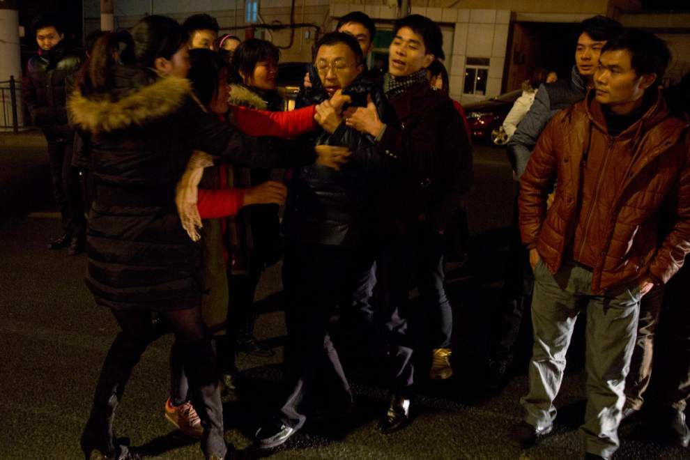 New Year's stampede leaves 36 dead, 47 injured in Shanghai _lowres