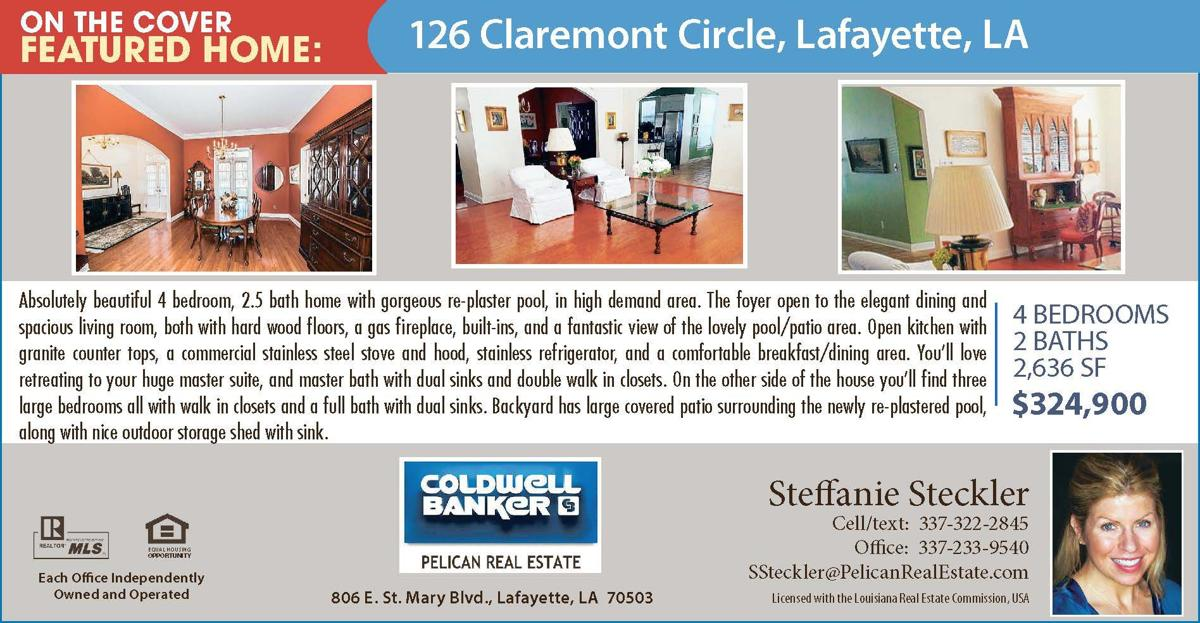 126 claremont circle lafayette la real estate for Acadiana home builders