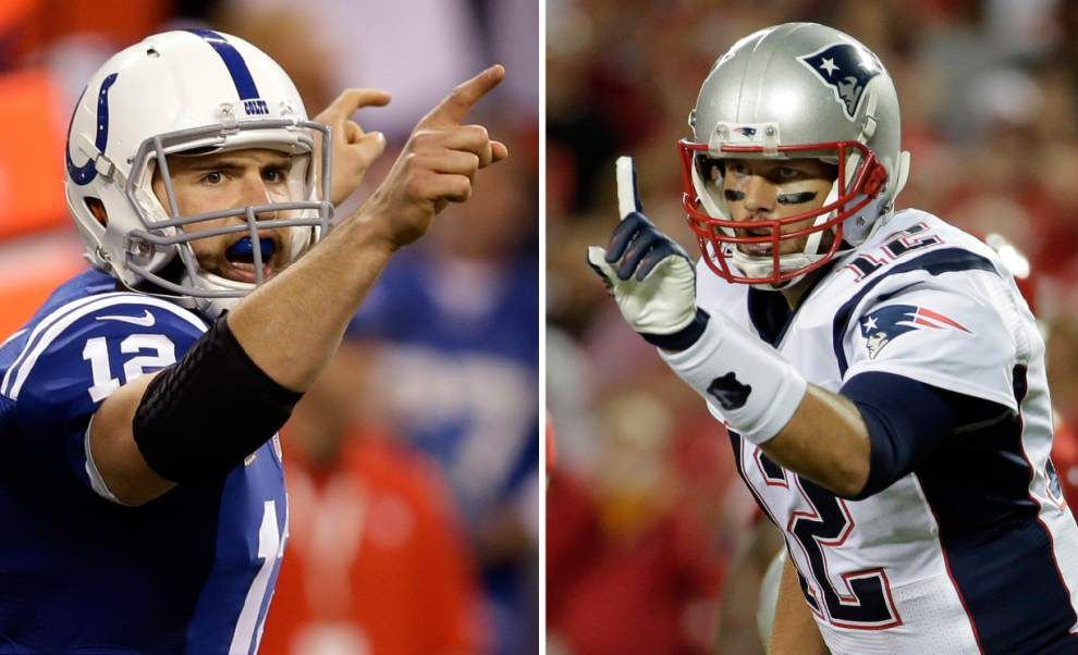 New rivalry born in AFC: Brady vs. Luck _lowres