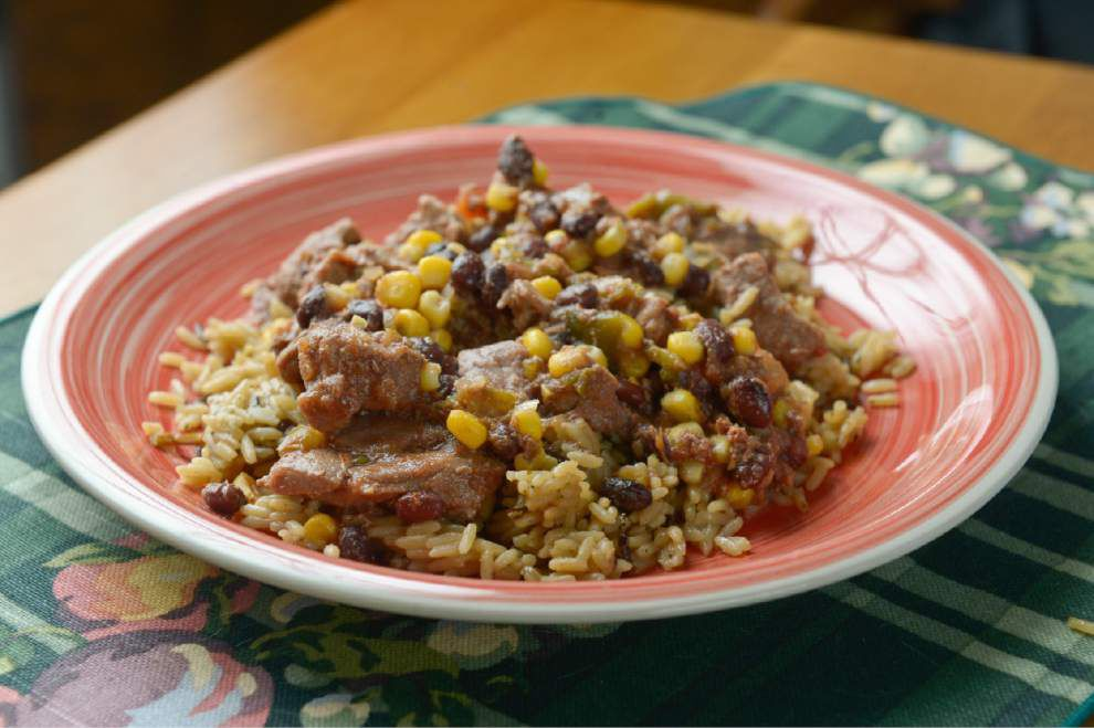 Salsa Beef Over Rice _lowres