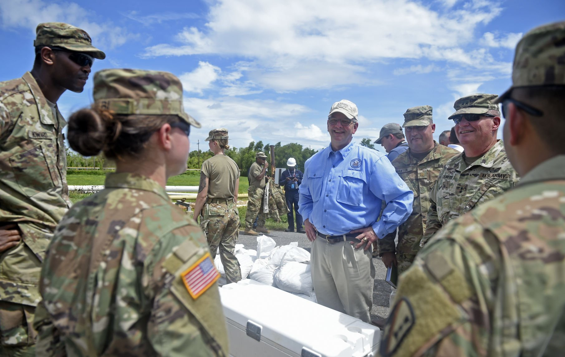 Edwards played to strength during Hurricane Barry, likely boosted his re-election effort