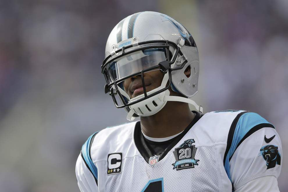 Carolina Panthers quarterback Cam Newton says rehab was longer than expected _lowres