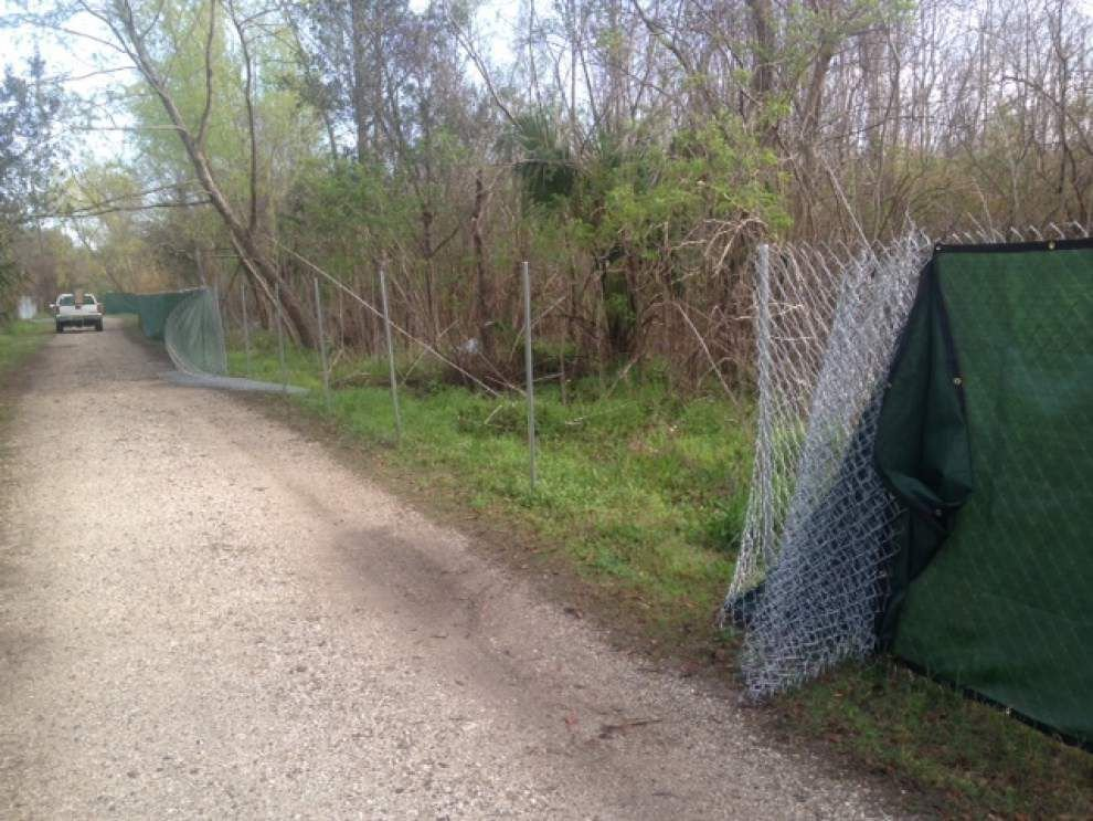 City Park promises legal action against trespassers trying to block new golf course _lowres