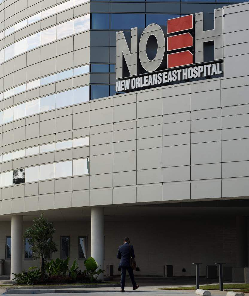 Officials hope new hospital's opening will boost New Orleans East _lowres