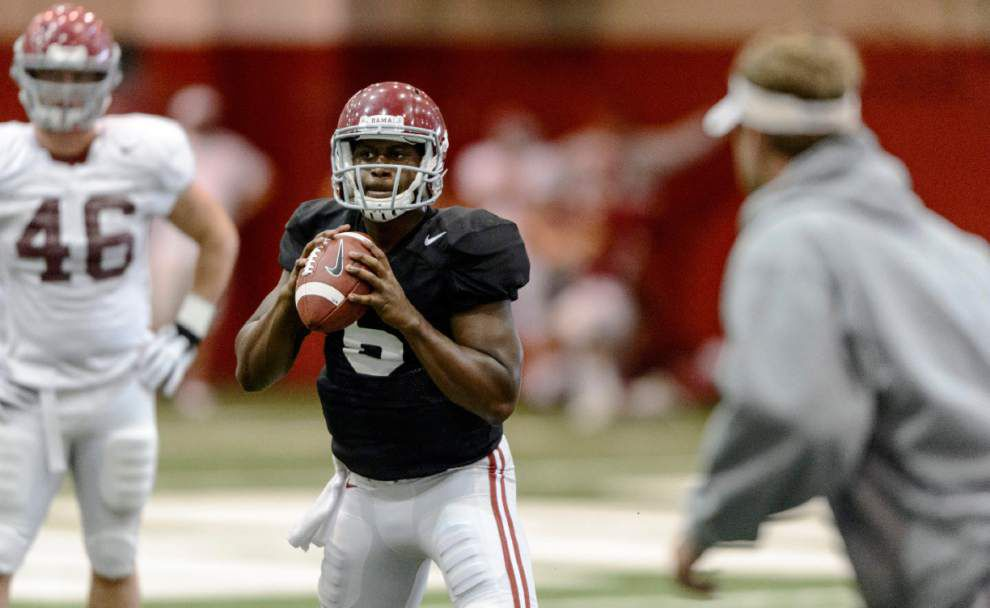 Tide's deep backfield should take pressure off quarterbacks _lowres