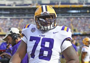 LSU offensive line shuffle: Brumfield out; Magee and Charles questionable, Orgeron says