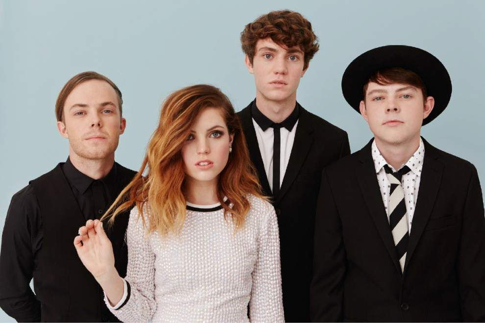 Sounds of the '80s inspired four siblings in Echosmith _lowres