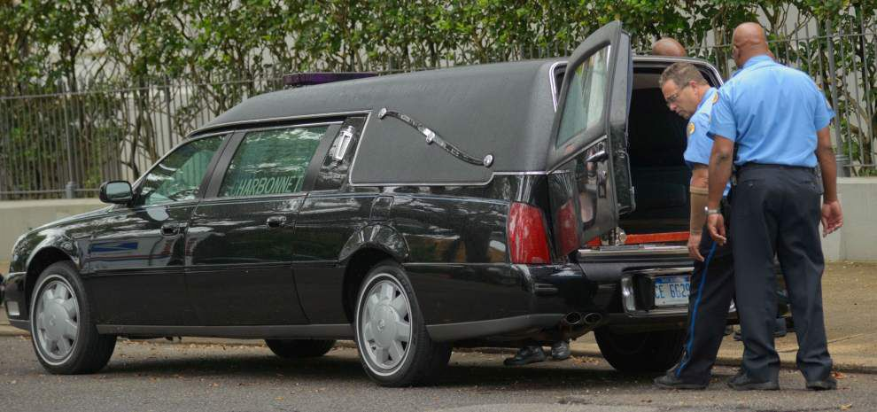 Nighttime burglar ransacks Treme funeral home, steals hearse _lowres