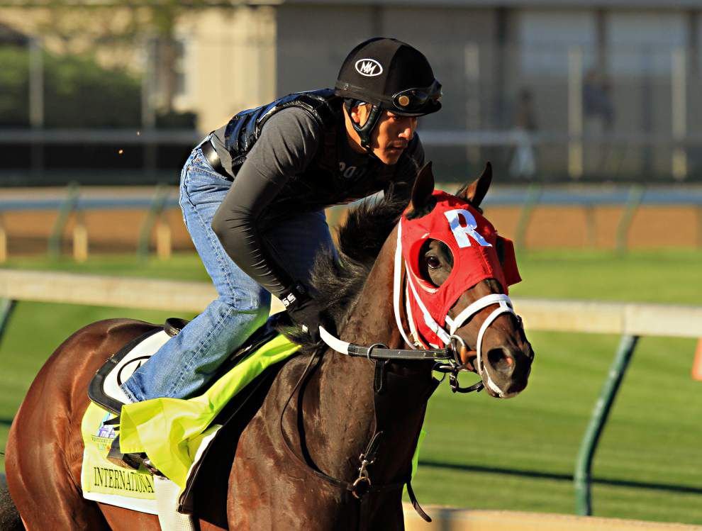 Fair Grounds standout International Star our to prove the betting public wrong in Kentucky Derby _lowres