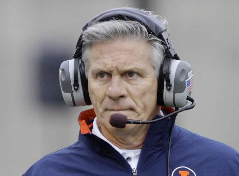 Ron Zook a possible candidate to be LSU's defensive coordinator? Source: No _lowres