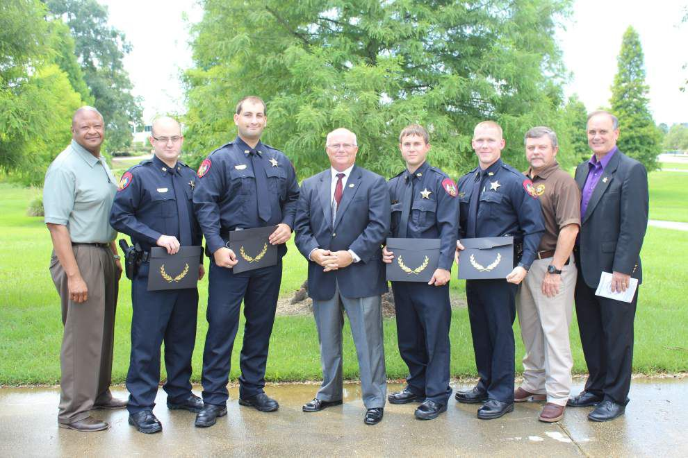 Four Ascension deputies graduate from Capital Area Regional Training Academy _lowres