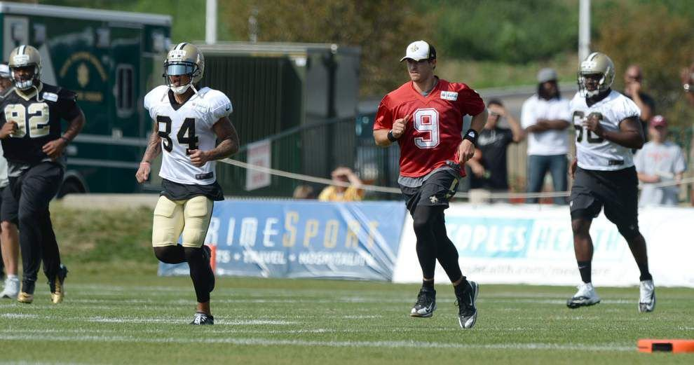 Saints receiver Kenny Stills hopes to play in Sunday's game at the Cleveland Browns _lowres