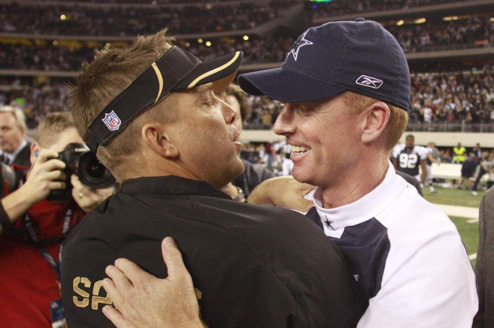 Hoping to continue their dominance over Dallas, Saints aren't keen on talking about the past _lowres