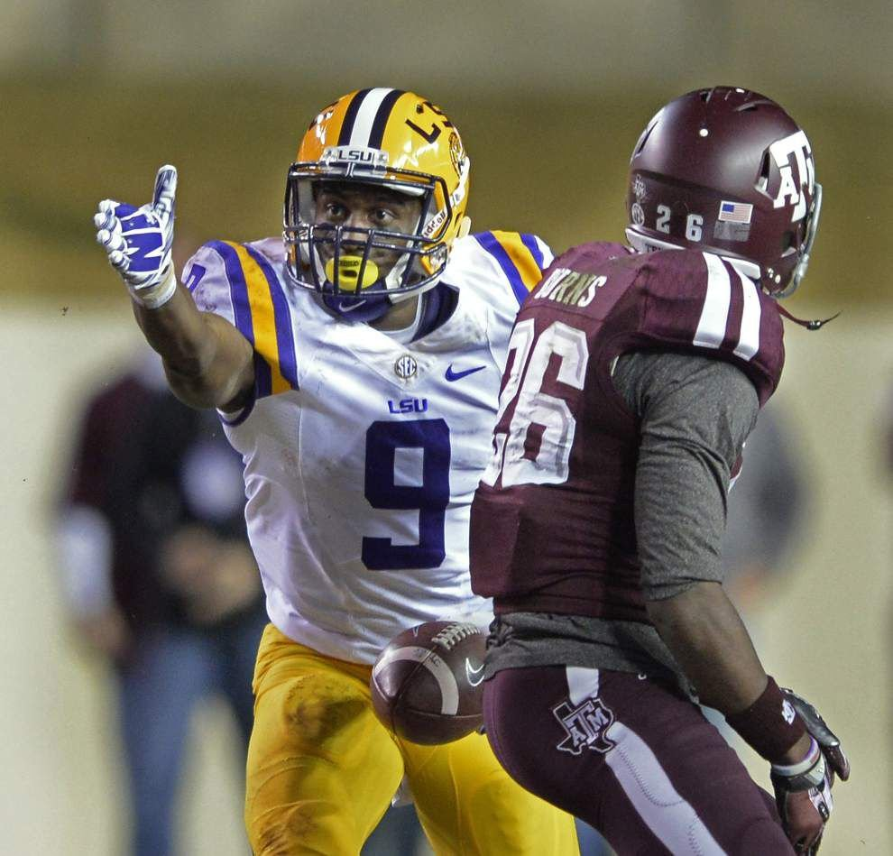 Changes at wide receiver highlight tweaks unveiled by LSU's Music City Bowl depth chart _lowres