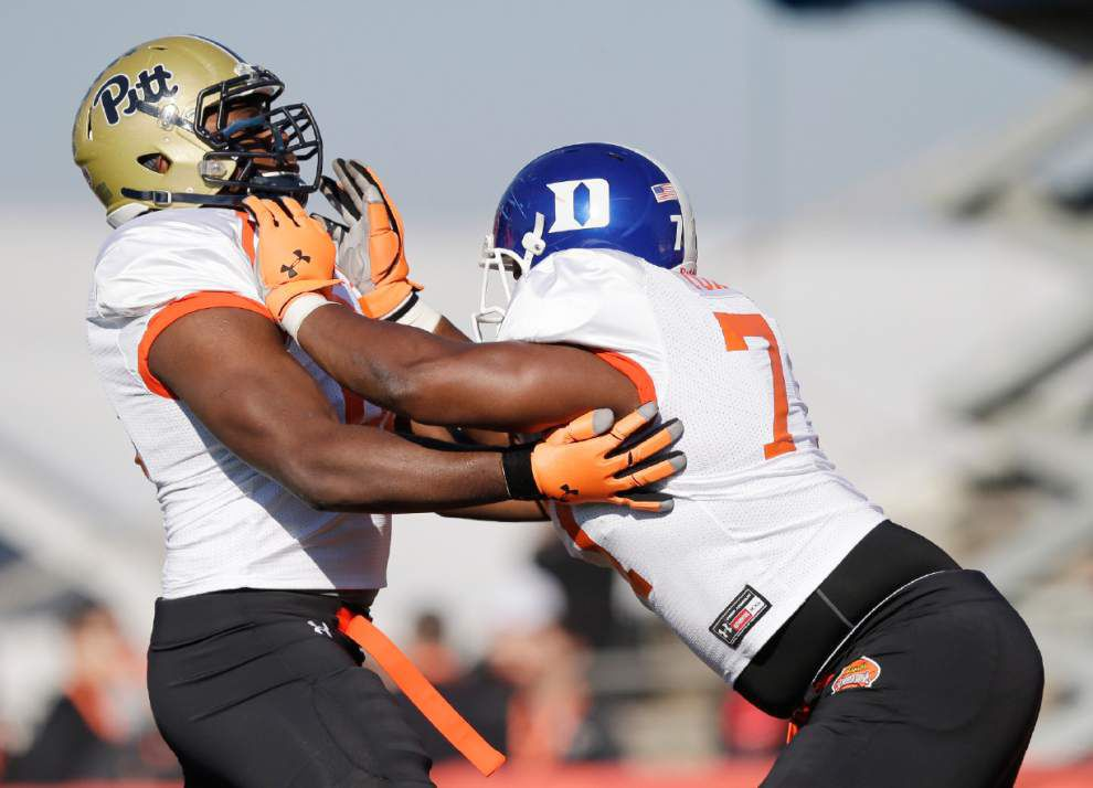 Senior Bowl: LSU tackle La'el Collins, other big men grab spotlight _lowres