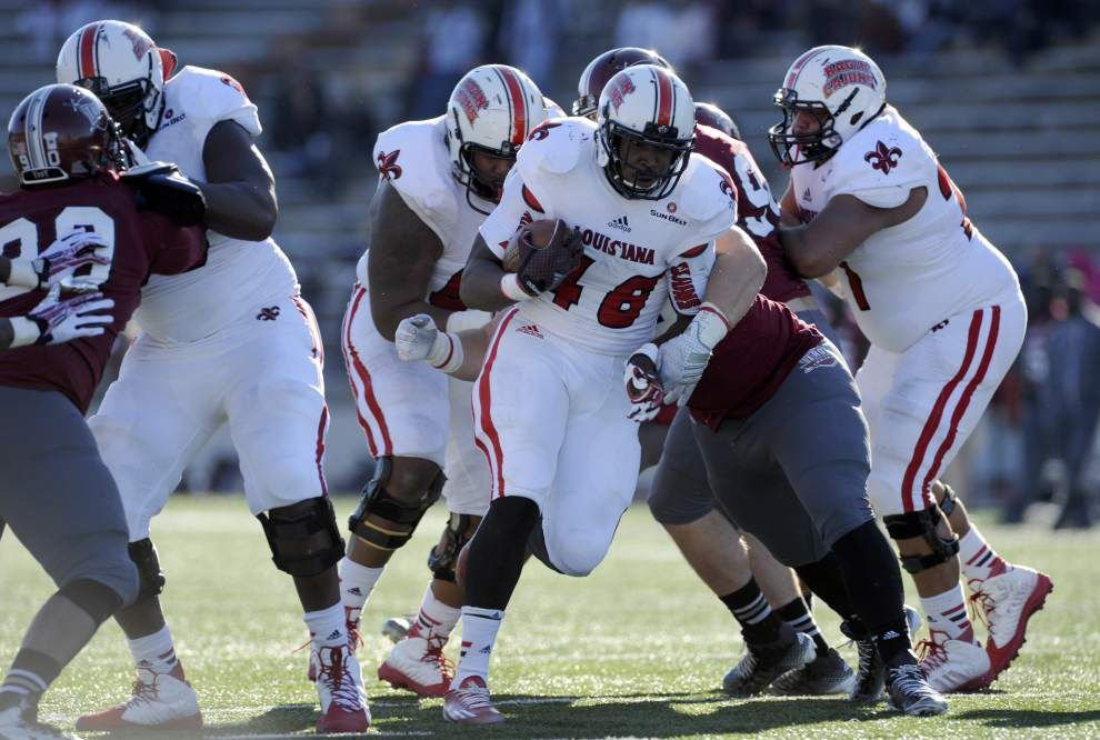 Cajuns notebook: Running game was running on all cylinders in Saturday's win at Troy _lowres